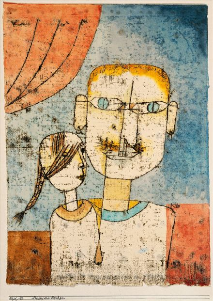 Klee, Paul: Adam and Little Eve. Fine Art Print/Poster (5022)